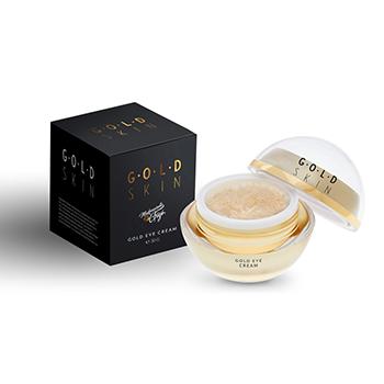 Crema contur pentru ochi cu aur 24K