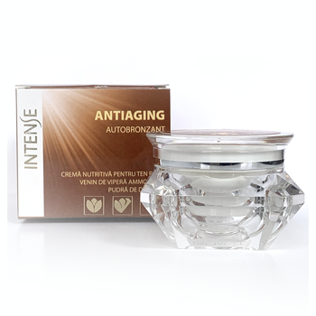 INTENSE AUTOBRONZANT – Crema nutritivă pentru ten ridat Autobronzantă